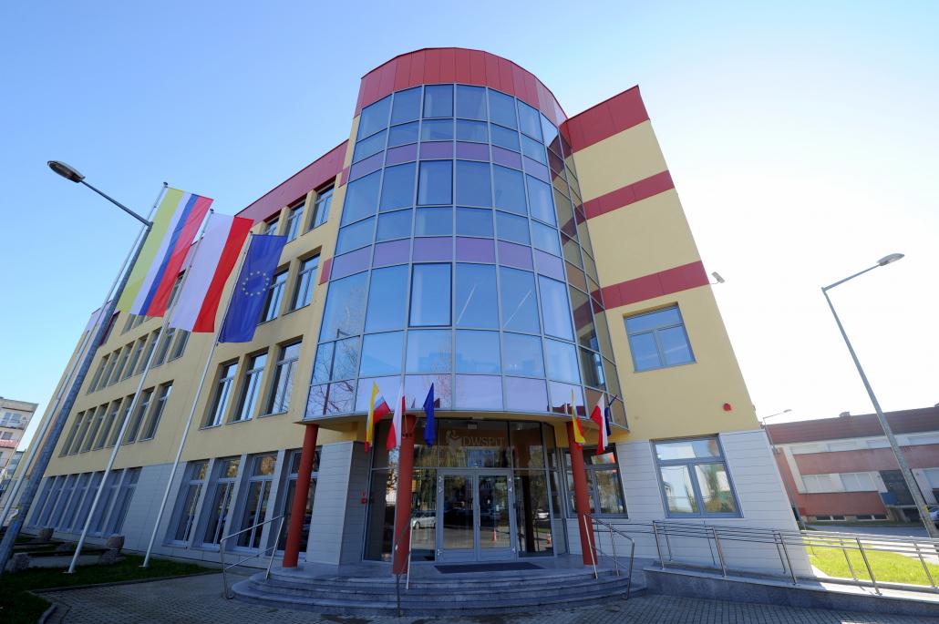 Budynek Uczelni Jana Wyżykowskiego w Polkowicach
